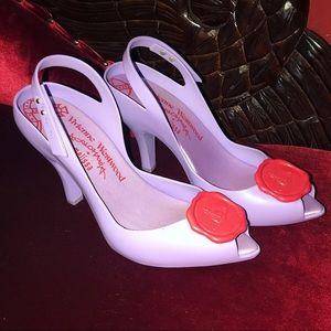 Vivienne Westwood Melissa Dragon Jelly Heels.